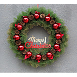 Christmas Plastic Wreath / Simulation Decoration