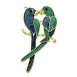 Mode Emaille Vogelliebhaber große Broschen für Frauen