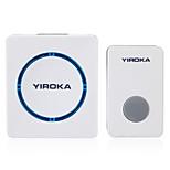 Music Smart Wireless Doorbell Waterproof with Receivers Door Bell 48 Ring for Home Office
