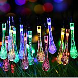 dimensioni super-galassia gocce di Natale luce della stringa di luci colorate 2 metro contenitore di batteria 20 capi di lampade 2,3 metro