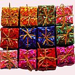Christmas Decorations Fang Libao Colorful Little Gift Bag 12 Pack Random Color