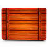 caixa do computador de laranja de madeira padrão de macbook para macbook air11 / 13 pro13 / 15 pro com retina13 / 15 macbook12