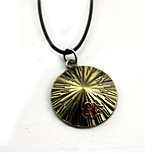 Inspired by Naruto Akatsuki Anime Cosplay Accessories Necklace Golden Alloy