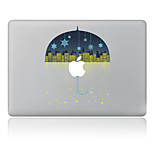 Christmas The Stars Umbrella Decorative Skin Sticker for MacBook Air/Pro/Pro with Retina