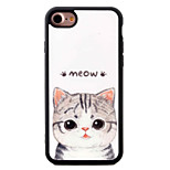 Para Diseños Funda Cubierta Trasera Funda Gato Suave TPU AppleiPhone 7 Plus / iPhone 7 / iPhone 6s Plus/6 Plus / iPhone 6s/6 / iPhone