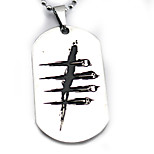 Inspired by Naruto Cosplay Anime Cosplay Accessories Necklace Silver Alloy