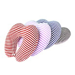 Travel Heart-shaped slow rebound memory pillow stripe u-shaped pillow  cervical pillow