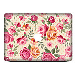 1 pc Scratch Proof PVC Body Sticker Flower Pattern For MacBook Pro 15'' with Retina / MacBook Pro 15'' / MacBook Pro 13'' with Retina / MacBook