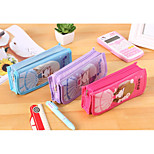 Sweet Princess Pu Pen Bag
