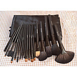 18 Mink Contour Brush / Makeup Brushes Set / Blush Brush / Eyeshadow Brush / Lip Brush / Brow Brush / Eyeliner Brush / Liquid Eyeliner Brush /