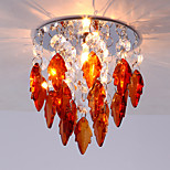 Amber Color Led Downlight Ceiling Corridor Crystal for Hallway Balcony