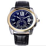 Tevise Men's Women's Couple's Sport Watch Skeleton Watch Fashion Watch Mechanical WatchCalendar Water Resistant / Water Proof Luminous