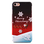 For  iPhone 7 7 Plus 6s 6Plus SE 5S Case Cover Christmas Series Santa Claus Pattern  Painting Oil Level Skin-Friendly PC Material