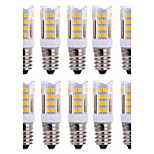 10 PCS E14 51 Smd2835 Led 5 w 850 lm AC220 Warm White Neutral White Small Ceramic Corn Lamp