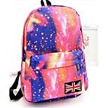 20 L Backpack School Waterproof / Wearable Green / Pink / Black / Blue / Brown