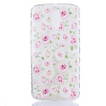 For Motorola Moto G4 Plus Case Cover Roses Flower Pattern Back Cover Soft TPU G4