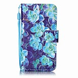 Begonia Painting PU Phone Case for apple iTouch 5 6