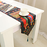 Rectangular Patterned / Animal / Floral Table Runner , Cotton Blend Material Hotel Dining Table / Table Decoration