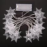 20-led 2m spina esterna impermeabile vacanze di Natale decorazione luce ha condotto la luce della stringa