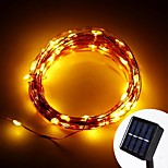 10M Warm White 100-LED Christmas Led String Light