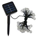 20 LED Solar Weihnachtsbeleuchtung Schnur