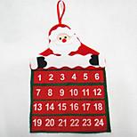 Christmas Calendar Santa Claus Calendar 30*40CM
