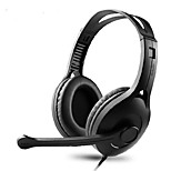 Edifier K800 Headphones (Headband)ForMobile PhoneWithWith Microphone / Volume Control Head-mounted computer voice headset headphones fashion game