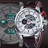 Multifunction Men Sport Watch 30M Waterproof LED Digital Male Wristwatch 2016 Military Fashion Casual Quartz Sport