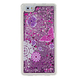 For Huawei P9 P8 Lite Cover Case Butterfly Pattern Glitter Powder Small Fresh Quicksand TPU Material Phone Case