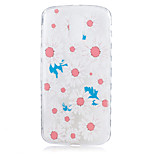 For Motorola Moto G4 Plus Case Cover Chrysanthemum Flower Pattern Back Cover Soft TPU G4