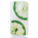 For Motorola Moto G4 Plus Case Cover Lemons Pattern Back Cover Soft TPU G4