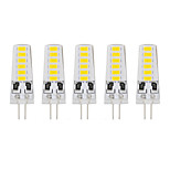 5 PCS G4 12 Led Smd5733 DC12 v 400 lm Warm White Cold White Double Pin Waterproof Lamp White