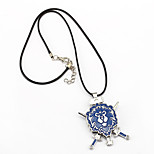 Inspired by WOW Anime Cosplay Accessories Necklace Blue Alloy