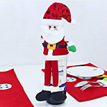Christmas Decorations That Occupy The Home Of Santa Claus Wine Bottle Decorate
