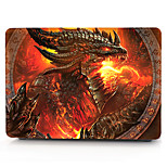Fiery Dragon MacBook Computer Case For MacBook Air11/13 Pro13/15 Pro with Retina13/15 MacBook12