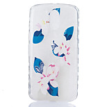 For Motorola Moto G4 Plus Case Cover Lily Flower Pattern Back Cover Soft TPU G4