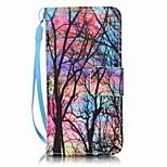 peinture à l'arbre de couleur pu cas de téléphone pour Apple iTouch 5 6