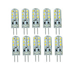 10PCS G4 24Led Smd 3014 DC12 v 350Lm Warm White Cold White Double Pin Waterproof Lamp White