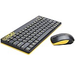 Mofii GO180 Wireless Mouse&Keyboard Combo Black Yellow