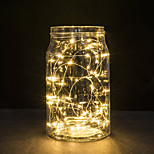 30 LEDs Copper Wire lights 3M string lights for christmas light festival wedding party or Home decoration lamp