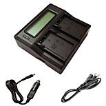 ismartdigi EL9 LCD Dual зарядное устройство с кабелем для зарядки в автомобиле для NIKON D60 D40 D40X D500 enel9 камеру Аккумуляторы,