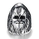 Ring Non Stone Skull Halloween Party Daily Casual Jewelry Steel Men Ring 1pc,8 9 10 11 12 Silver