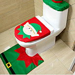 Christmas Originality Three-piece Toilet  Elf Model