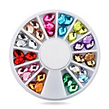 1pcs Nail Art Rhinestone Decoration 5X8mm Glitter Fashion  Gem Nail Beads