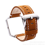 High Quality Handmade Retro Leather Band Metal Frame for Fitbit Blaze