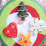 Christmas creative three-dimensional magnetic clasp fridge magnets  Pattern Is Random