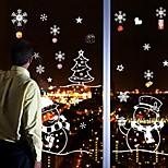 Navidad / Caricatura / Día Festivo Pegatinas de pared Calcomanías de Aviones para ParedCalcomanías Decorativas de Pared / Calcomanías de