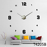 1PC New Home Decor Large Roman Mirror Fashion Diy Modern Quartz Clocks Living Room 3D Wall Clock Watch