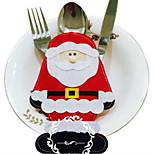 2pcs père noël Ménagère décorations de Noël