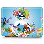 MacBook Herbst für MacBook Sexy Lady Blume Polycarbonat Stoff